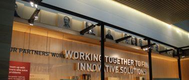 Bill Melinda Gates foundation lobby