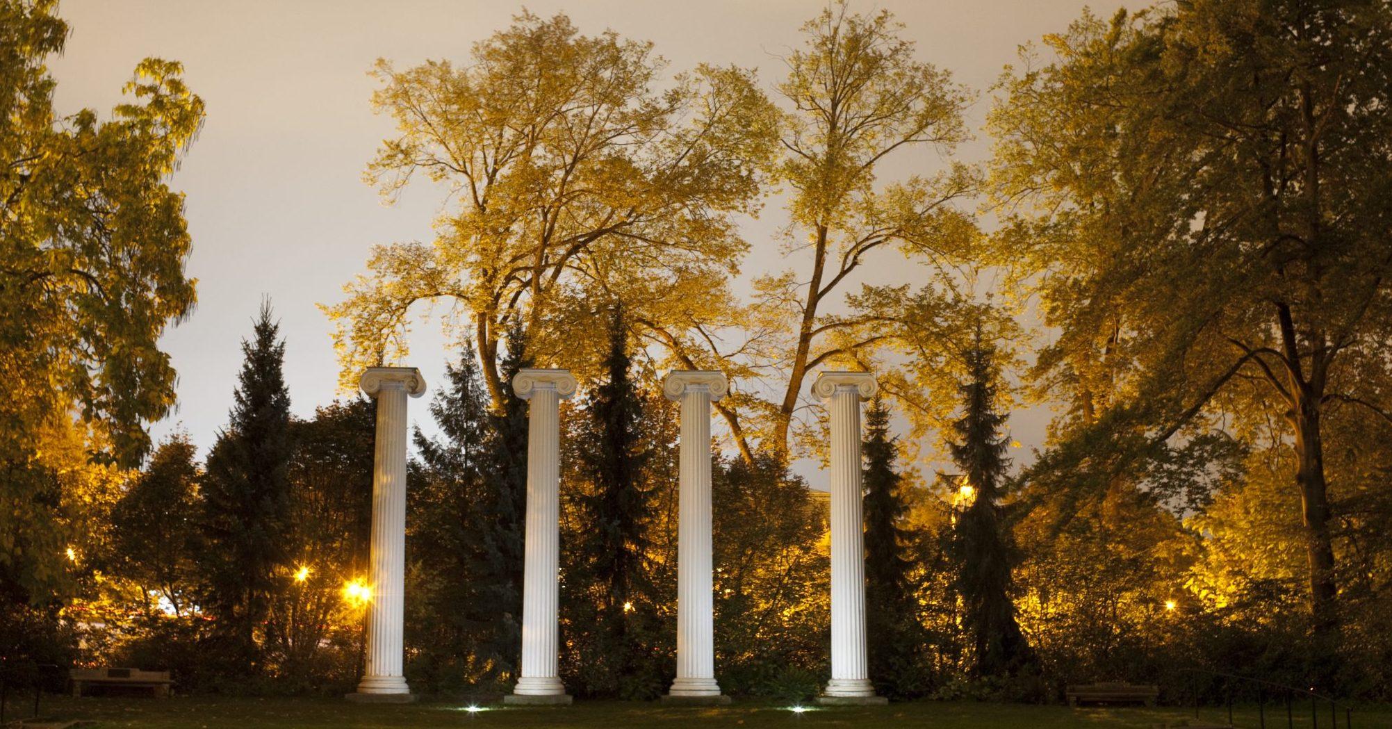 UW The Columns in Sylvan Grove.
